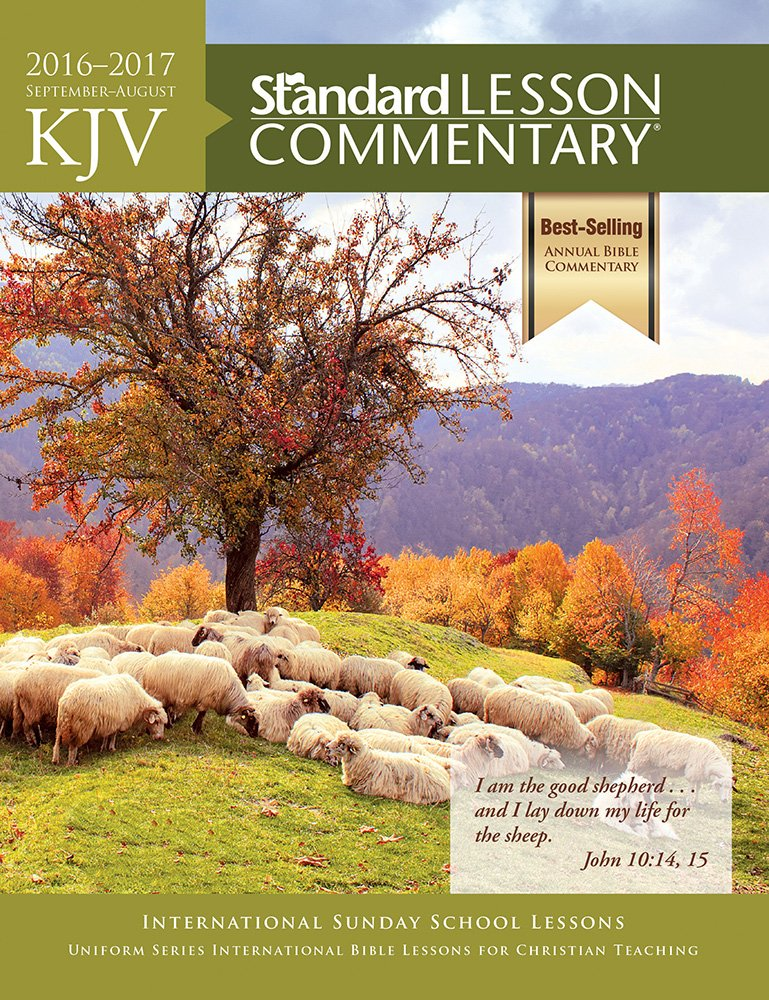 KJV Standard Lesson Commentary 2016-2017 - KJV : David C Cook (Bible