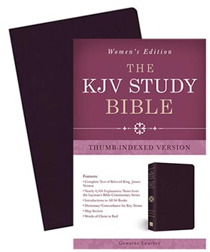 The KJV Study Bible Women's Edition (Indexed)