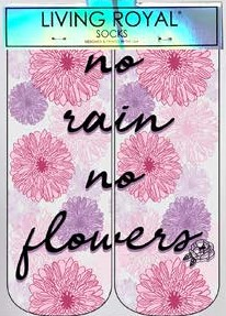 No Rain No Flowers Ankle Socks
