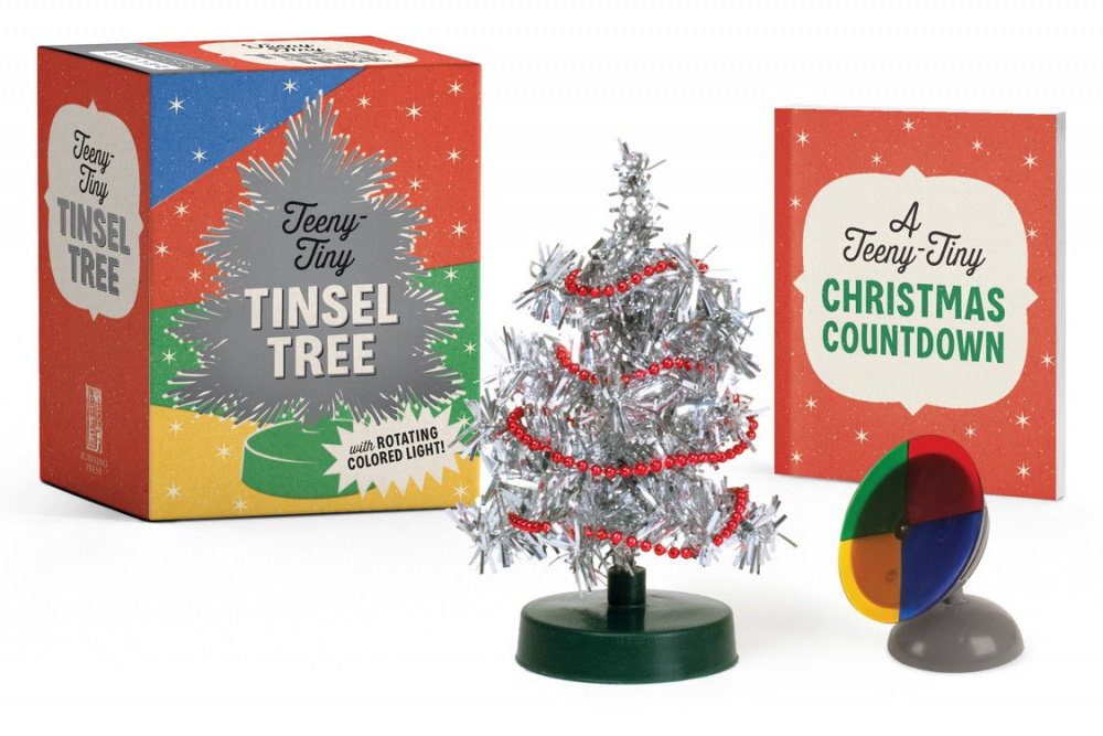 Teeny-Tiny Tinsel Tree (Miniature Editions) - Running Press (Gift ...