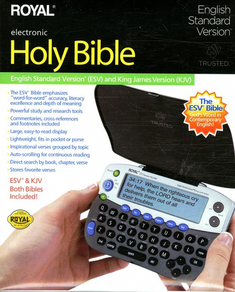 ESV KJV Royal Electronic Bible - : Royal (Audio Bibles) | daywind com