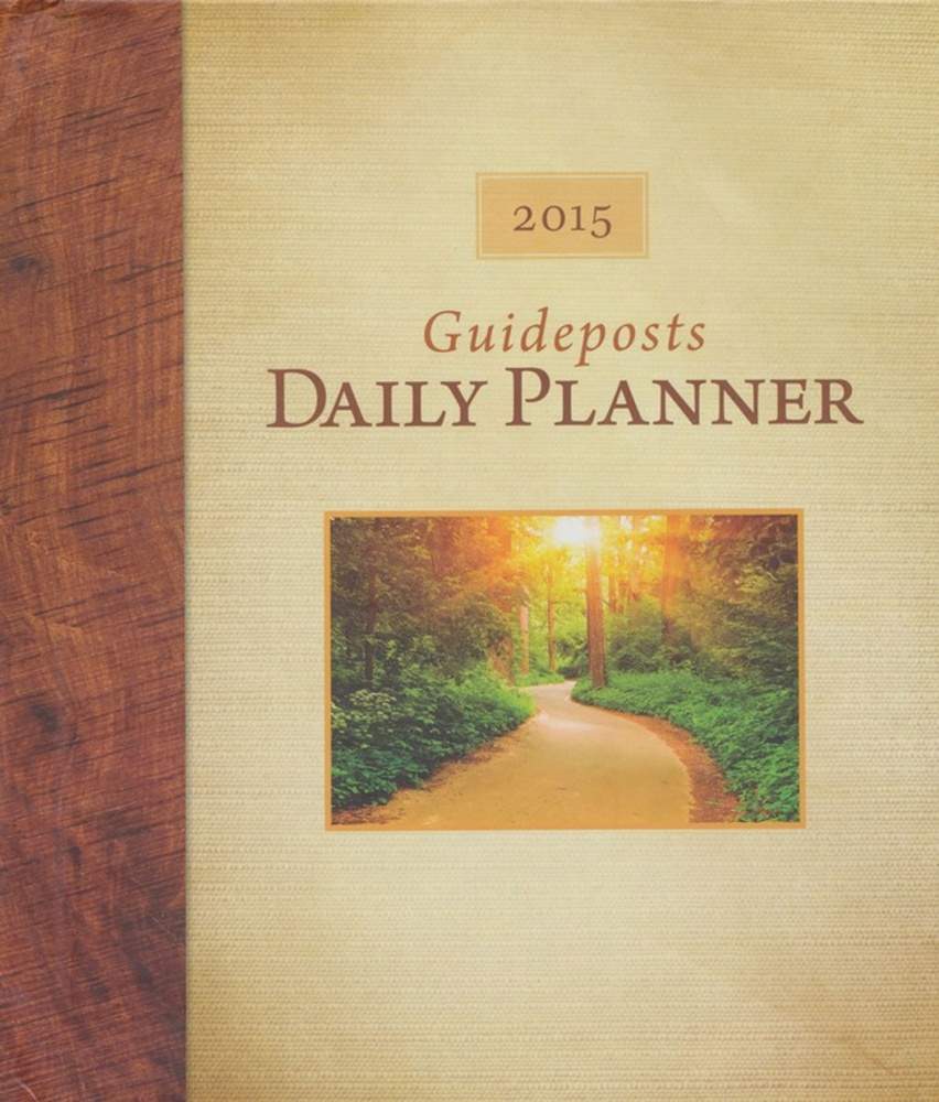 graphic about Hardcover Daily Planner known as Guideposts Day-to-day Planner 2015 (Hardcover) - Distinctive : Beliefs