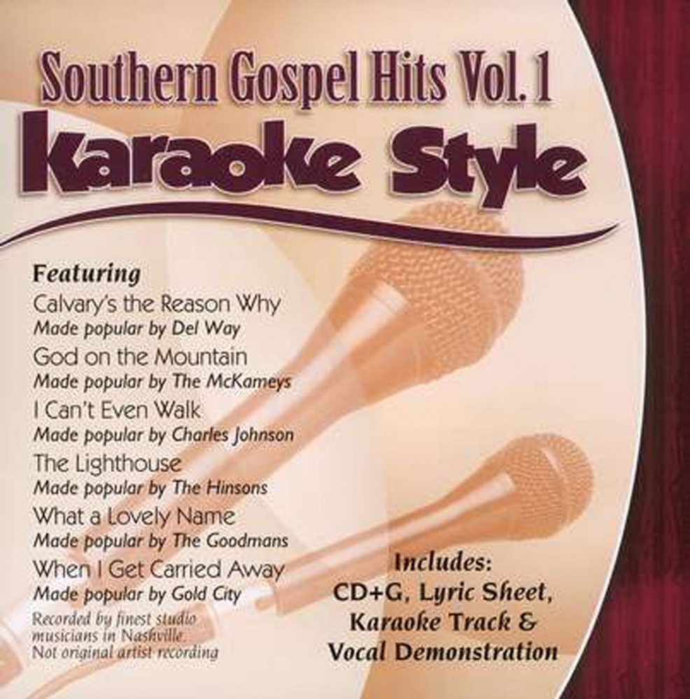 Karaoke Cdgs, Dvds & Media Cathedrals Volume 1 Christian Karaoke Style New Cd+g Daywind 6 Songs