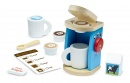 Melissa & Doug 11-Piece Brew and Serve Wooden Coffee Maker Set