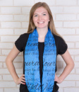 (Denim) Superhero Infinity Scarf