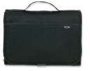Tri-Fold Organizer Large Bible Cover (Black)