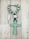 Mint & Gray Little One Teether