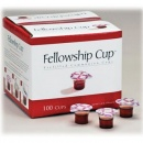 Fellowship Cup: Prefilled Communion Cups (100 Cups)