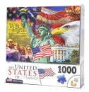 1,000 Piece Puzzle: I Love USA