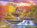 Puzzle: Glade Creek Mill (1000pc)