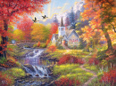 Puzzle: Woodland Church (1000pc)