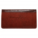 """Amazing Grace"" Checkbook Cover"