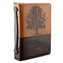 """Stand Firm in the Lord"" Two-tone Bible Cover (Medium)"