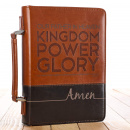 The Lord's Prayer Two-Tone Bible Cover (Large)