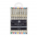 Veritas Micro-Line Color Pens (Set of 8)