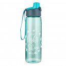 Let Your Light Shine Water Bottle (Teal)