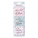 Live A Life Of Love, Let Your Light Shine, Do All Things In Love Magnets
