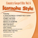 Karaoke Style: Country Gospel Hits, Vol. 6