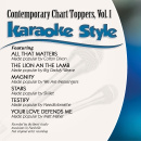 Karaoke Style: Contemporary Chart Toppers Vol. 1 image