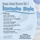 Karaoke Style: Songs About Heaven, Vol. 3 image