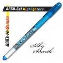 Highlighter-ACCU-Gel Bible Hi-Glider-Blu
