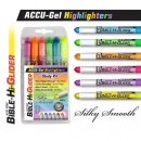 Accu-Gel Highlighters Study Kit (6 pack)