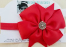 Red Holy Spirit Pinwheel headband