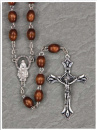 Brown Keepsake Rosary