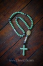 Mint & Grey Soft Rosary