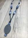 Blue Ombre Mariana Mama Necklace