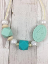 Mint Lupita Mama Necklace