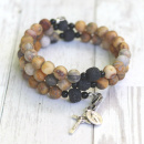 Our Lady of Kibeho Rosary Bracelet