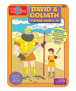 David & Goliath Storybook Magnetic Tin Set
