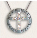 Hope: Crystal Cross Antique