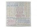 Prayer Cloth with Healing Verses (6 Pack)