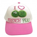 I Love French Peas:Toddler Cap