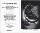 Biking Prayer Card