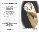 Baseball Prayer Card image