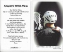 Lacrosse Prayer Card