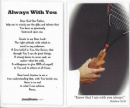 Tennis Prayer Card