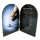 Golf Prayer Plaque