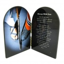 Ice Hockey Prayer Plaque