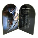 Skateboarding Prayer Plaque