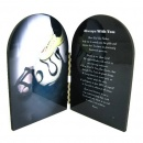 Soccer (Woman / Girl) Prayer Plaque