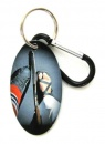 Ice Hockey Zipper Pull Tag