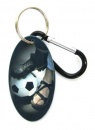 Soccer (Men / Boy) Zipper Pull Tag