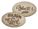 Pocket Stone: Psalm 107:1