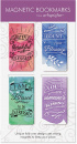 Magnetic Inspirational Bookmarks (4-pack)