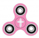 Pink Cross Fidget Spinner