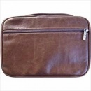 Distressed Leather Look Bible Cover (Brown XXL)